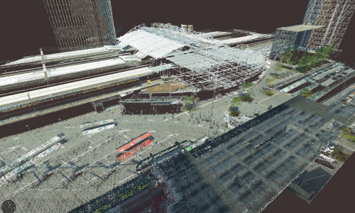 Pointcloud of Leiden